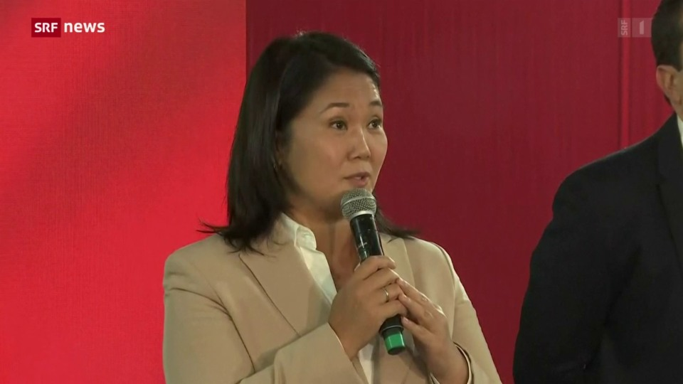 Archiv: Präsidentschaftskandidatin Keiko Fujimori soll in U-Haft