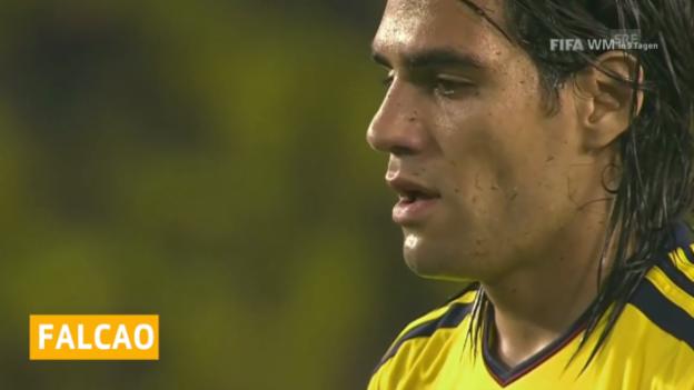 Video «Fussball: WM 2014, Falcao fällt aus» abspielen