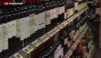 Video «Sechs Flaschen Wein neu zollfrei» abspielen
