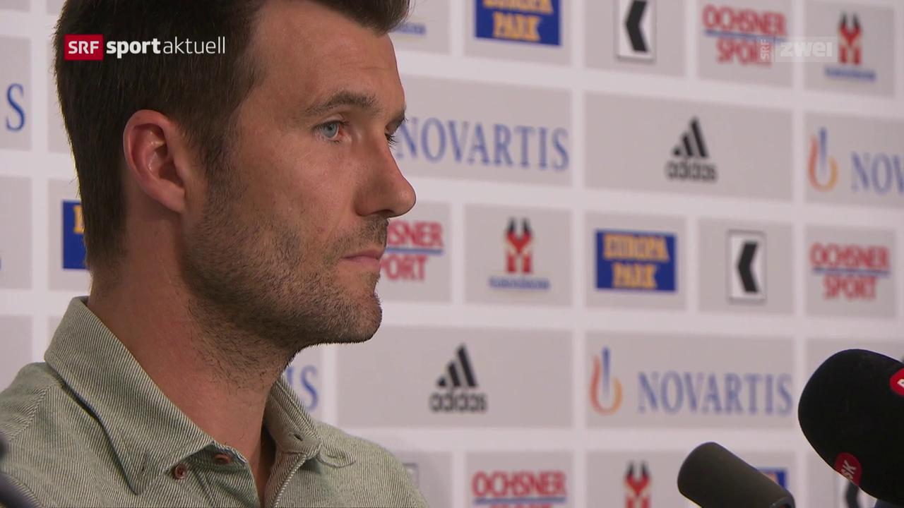 Wicky wird als künftiger Basel-Coach vorgestellt