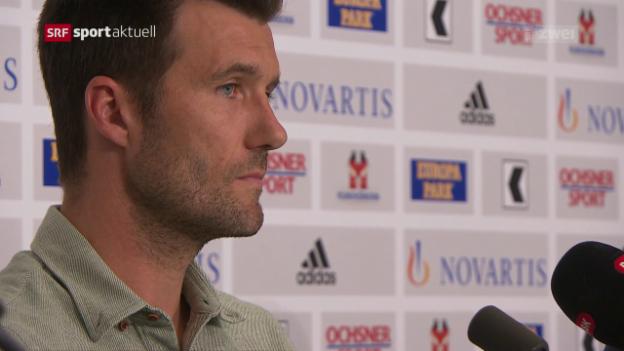 Video «Wicky wird als künftiger Basel-Coach vorgestellt» abspielen