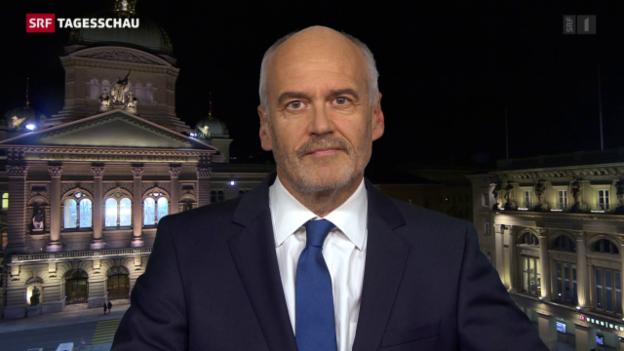 Video «Einschätzung von Bundeshausredaktor Hanspeter Forster» abspielen