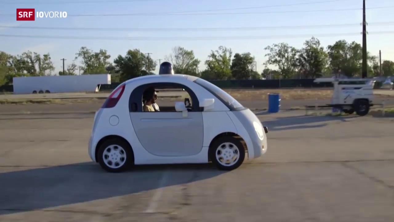 Software-Riesen tüfteln am selbstfahrenden Auto