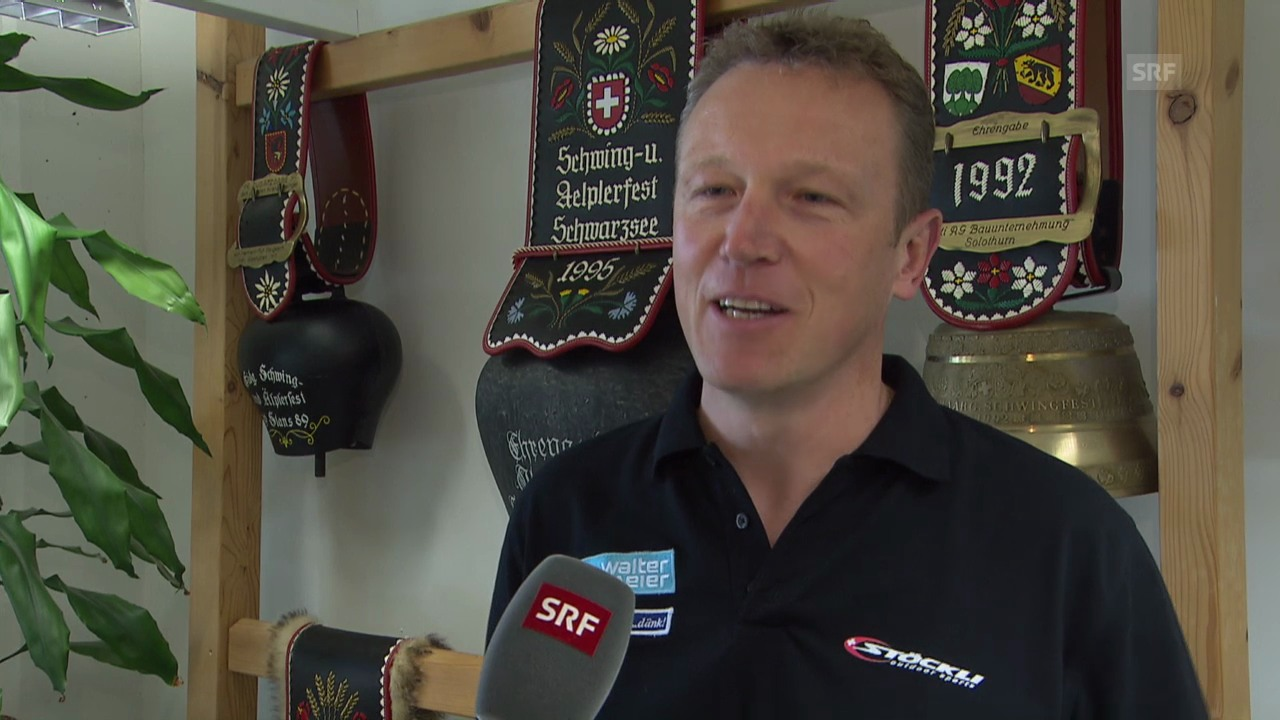 Schwingen: Interview mit SRF-Experte Adrian Käser