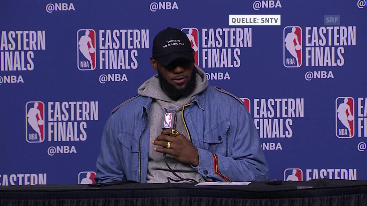 LeBron James: «Es war ein Team-Effort»