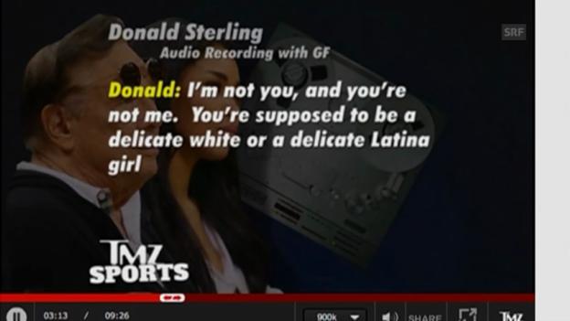 Video «Audio-Transkription: Aussagen von Donald Sterling» abspielen