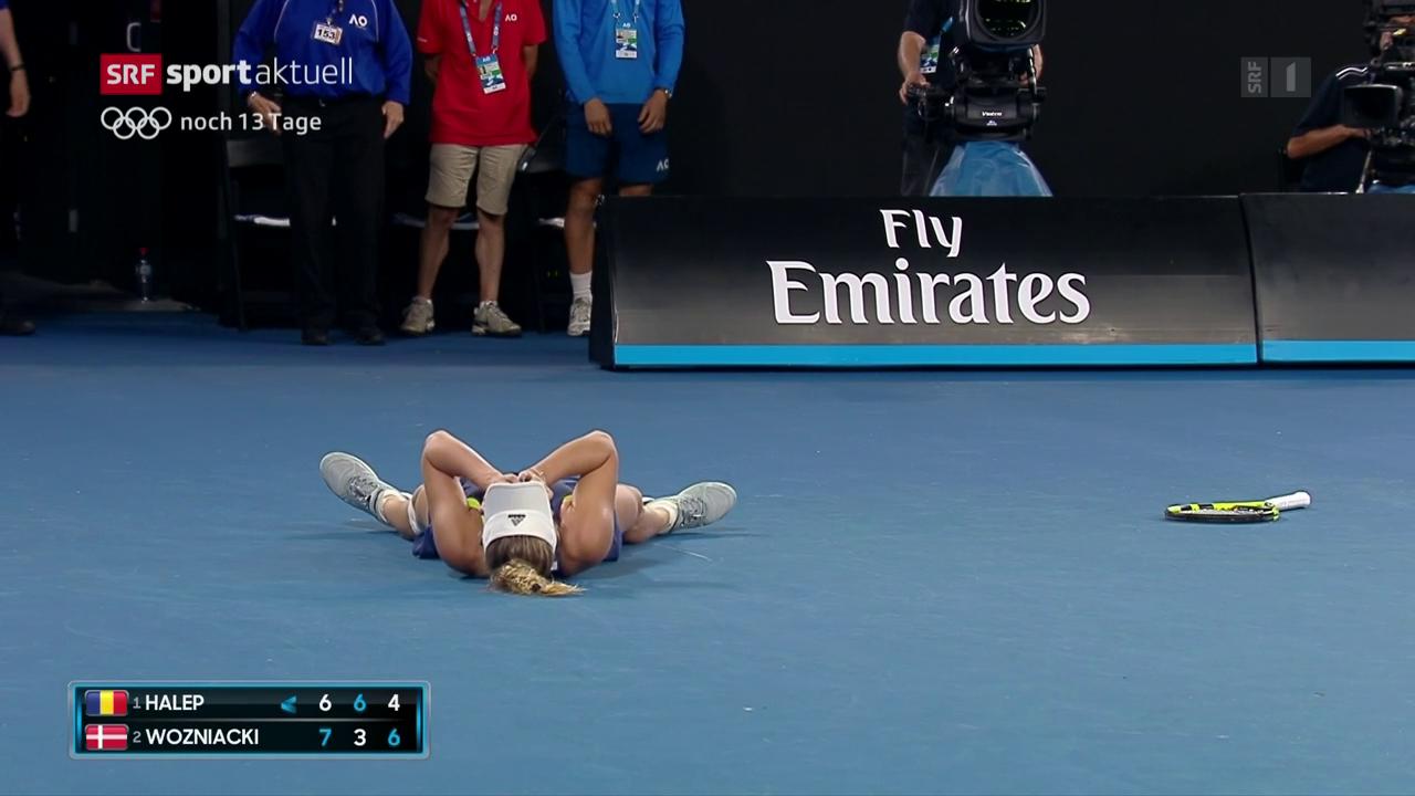 Wozniacki gewinnt die Australian Open