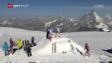Link öffnet eine Lightbox. Video Abfahrer im Sommertraining in Zermatt abspielen