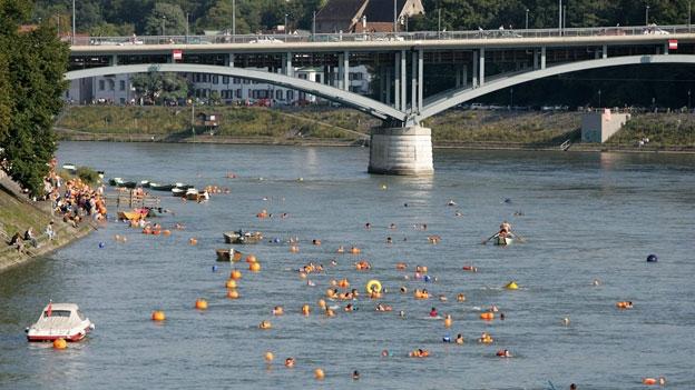 Das schönste Basler Bad ist ein Fluss