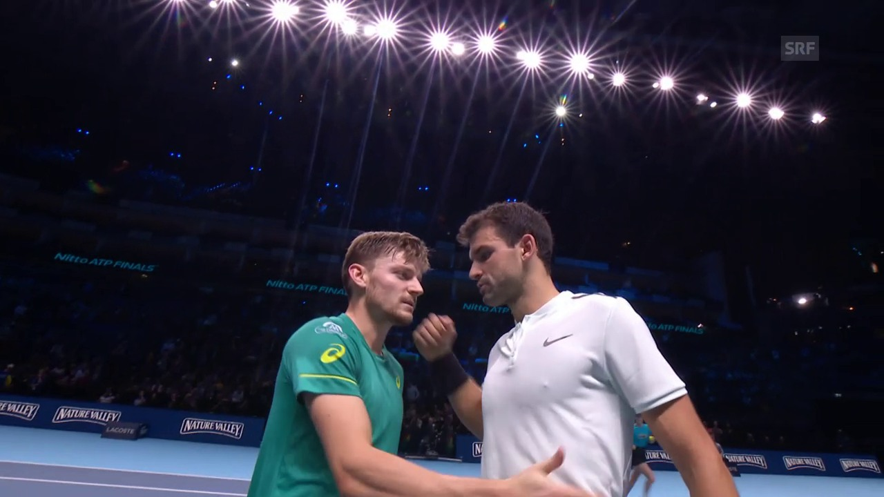 Live-Highlights Dimitrov-Goffin