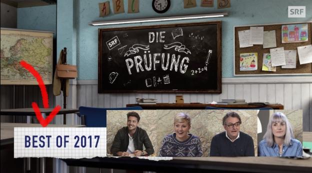 Video «Zum Jahresende nochmals das Beste aus «Die Prüfung»» abspielen