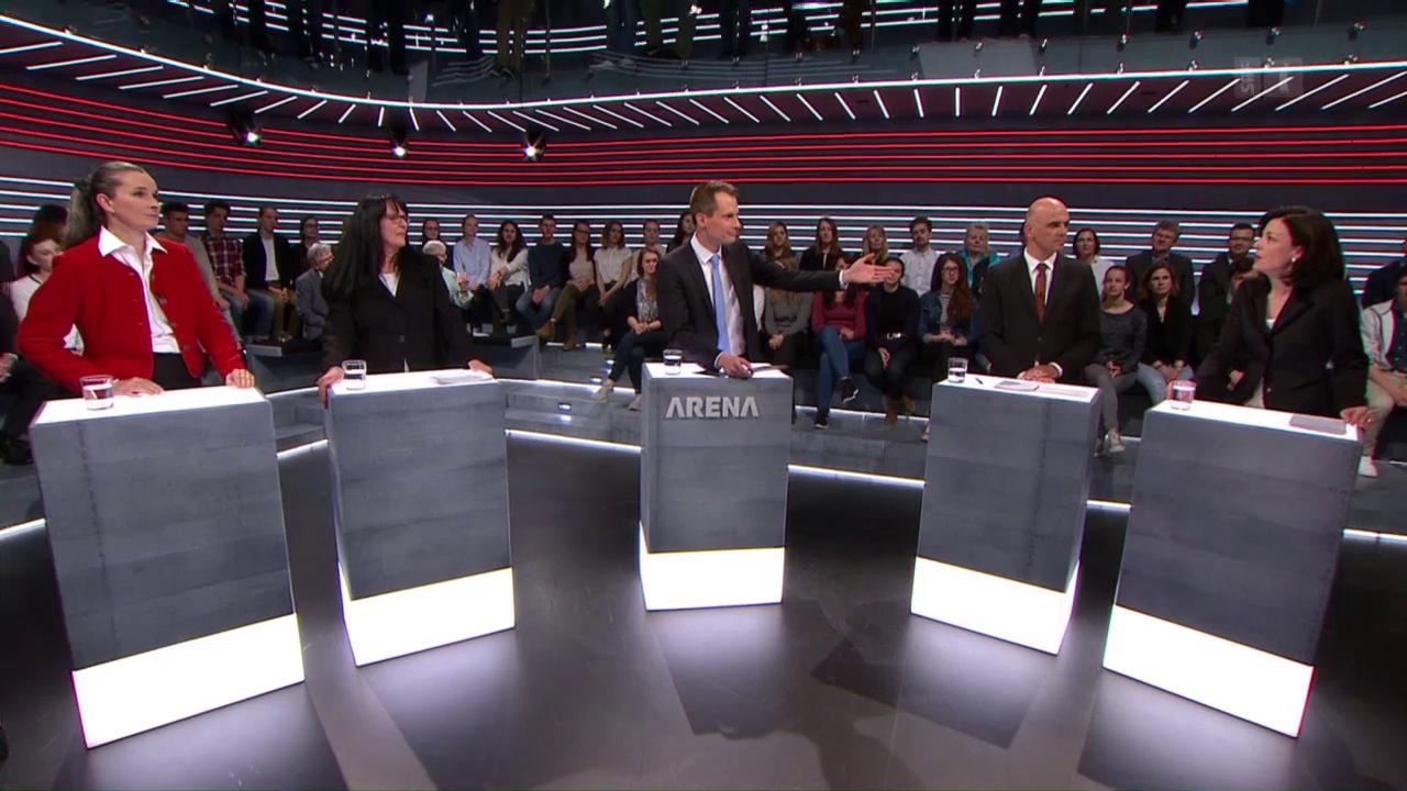 Abstimmungs-Arena: Änderung Fortpflanzungsmedizin