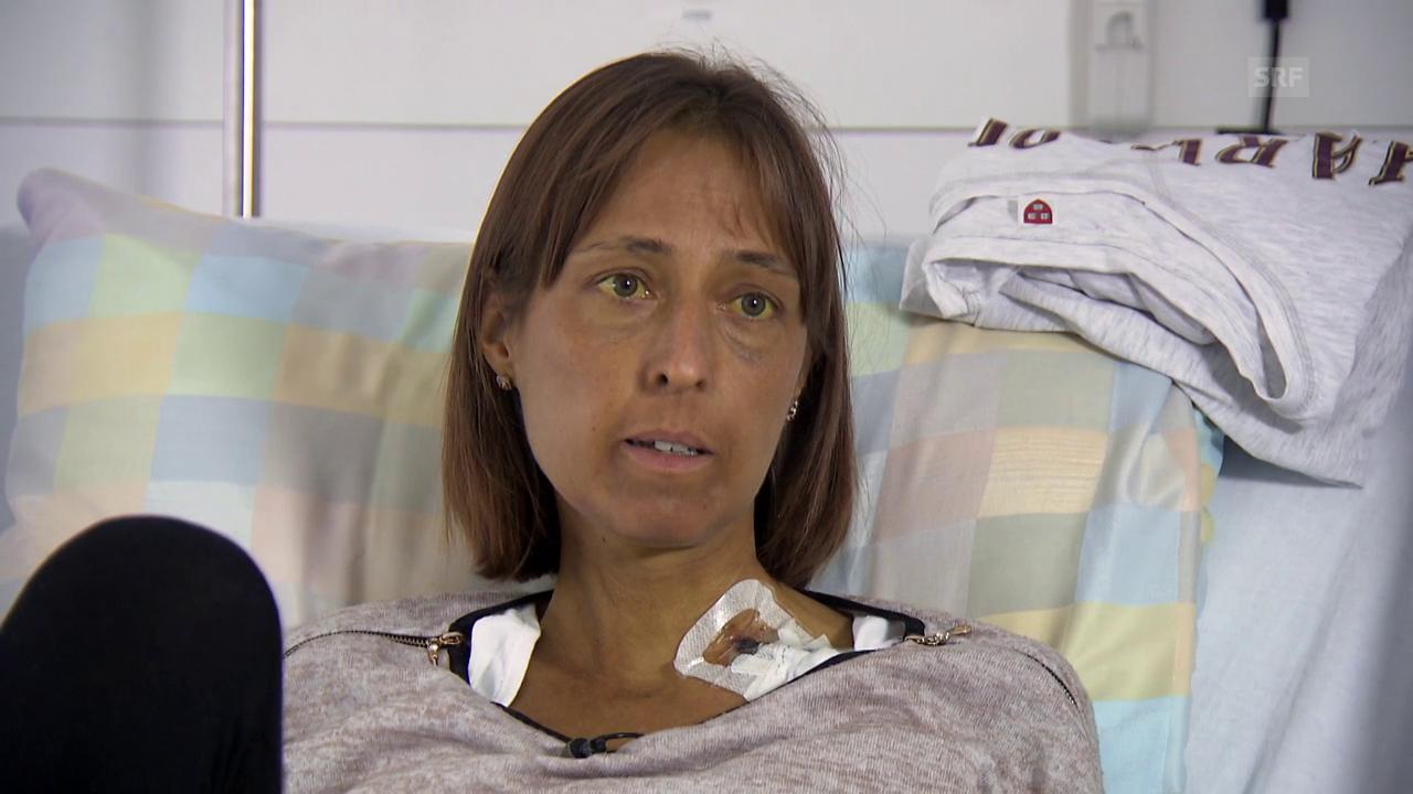 Anita Laurent steht auf der Warteliste für eine Lebertransplantation