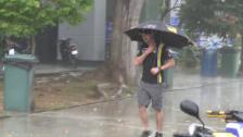 Video «GP Malaysia: Regen vor dem Qualifying» abspielen