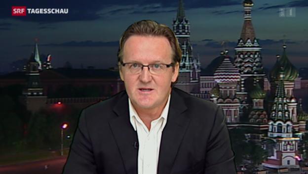 Video «SRF-Korrespondent über das Zur-Schau-Stellen der Gefangenen» abspielen