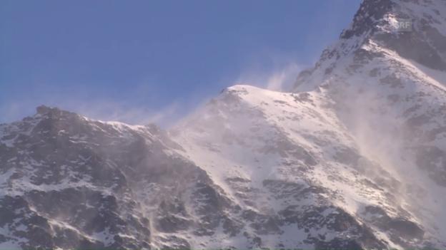 Video «Sturmähnliche Bedingungen in Santa Caterina» abspielen