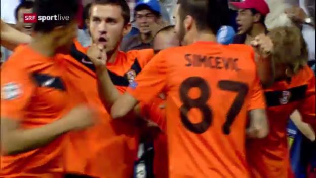 Video «Karaganda - Celtic: Die Tore» abspielen