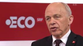 Video «Anschlag auf die Kasse des Finanzministers: Ueli Maurer im Studio» abspielen