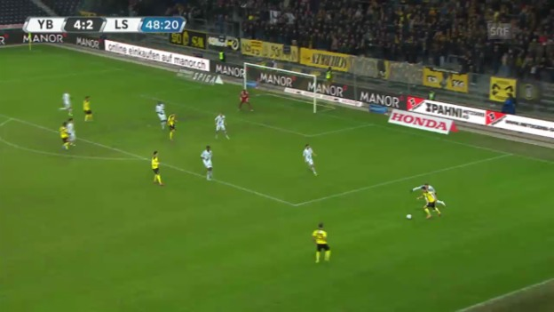 Video «Fussball: Super League, YB - Lausanne («sportlive», 16.02.2014)» abspielen