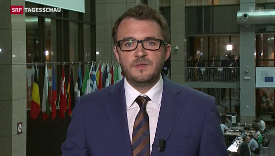 SRF-Korrespondent Sebastian Ramspeck zum Gipfel in Brüssel