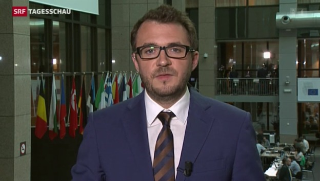 Video «SRF-Korrespondent Sebastian Ramspeck zum Gipfel in Brüssel» abspielen