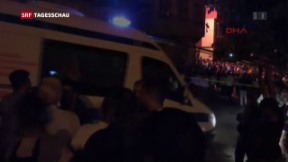 Video «Verheerender Anschlag auf Hochzeitsgesellschaft» abspielen