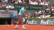 Video «Lajovic gewinnt gegen Nadal in Paris nur 4 Games» abspielen