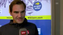 Link öffnet eine Lightbox. Video Federer: «Musste lange auf meine Chance warten» abspielen