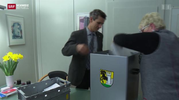 Video «Rekord-Stimmbeteiligung in Schaffhausen?» abspielen