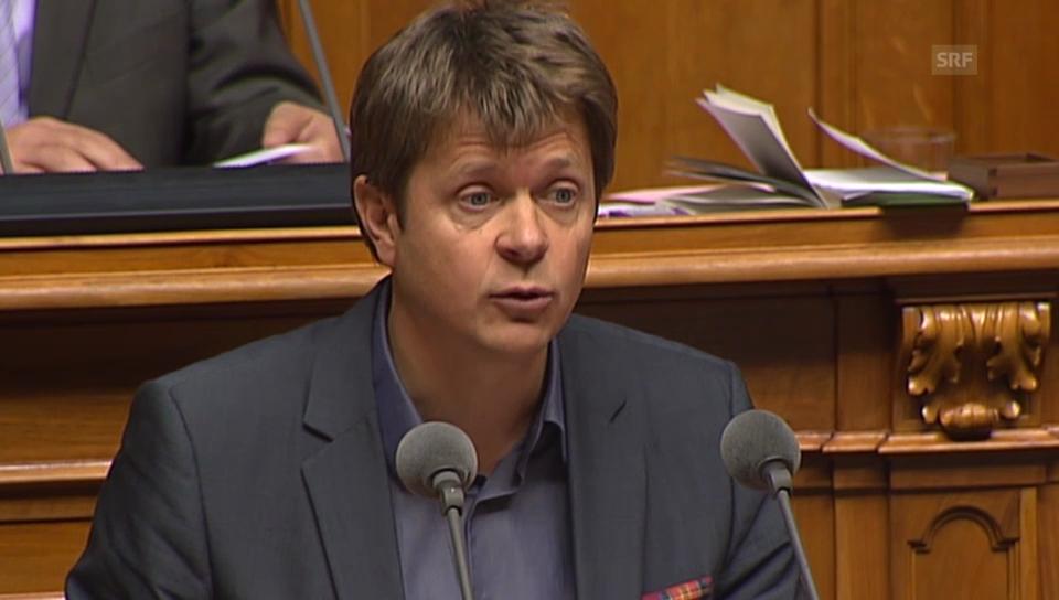 Jürg Grossen/GLP beruft sich auf die Bundesverfassung