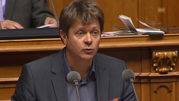 Video «Jürg Grossen/GLP beruft sich auf die Bundesverfassung» abspielen