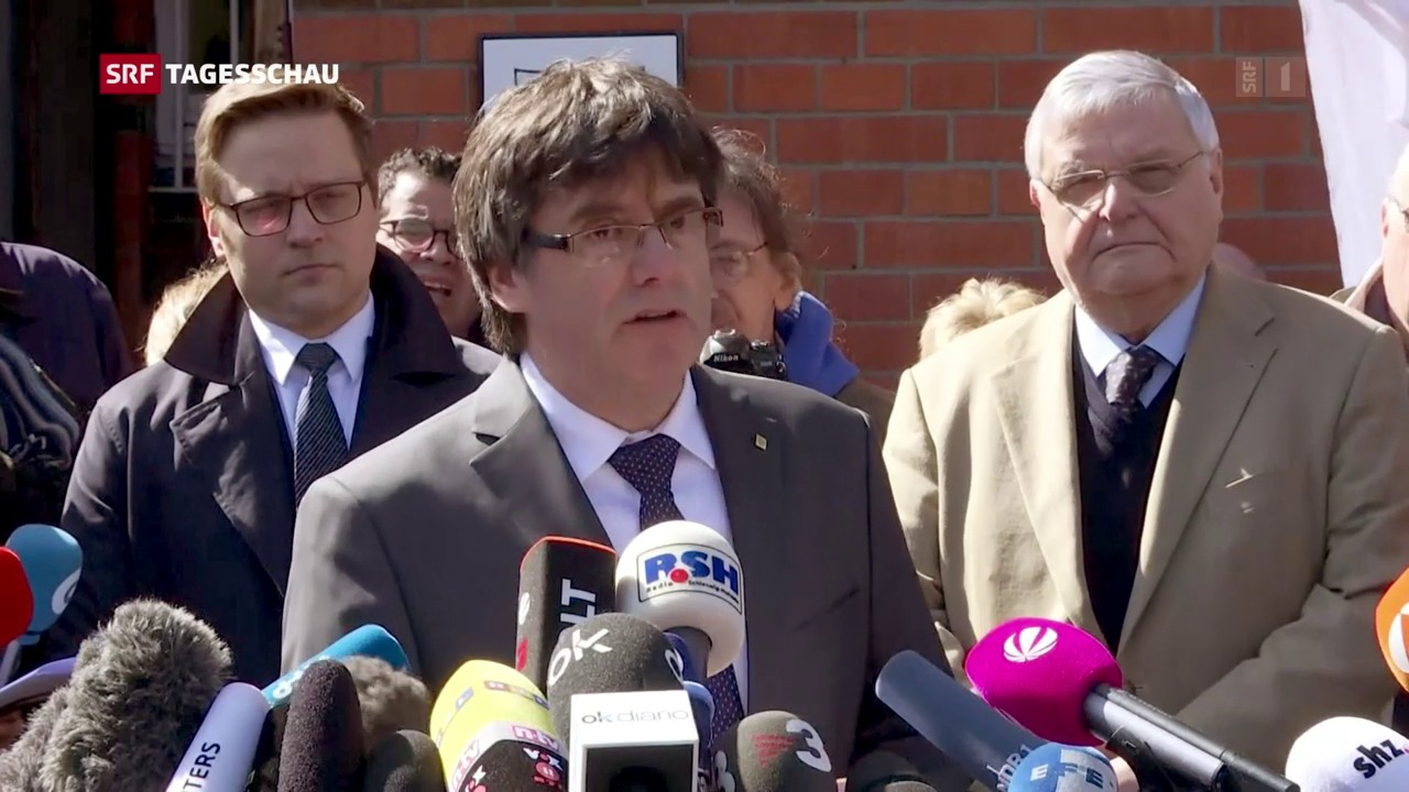 Puigdemont verlässt das Gefängnis