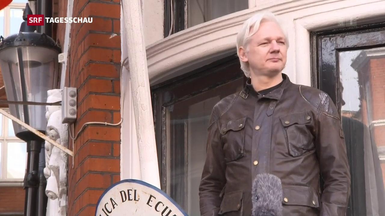 Schweden stellt die Ermittlungen gegen Assange ein
