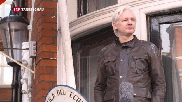 Video «Schweden stellt die Ermittlungen gegen Assange ein» abspielen