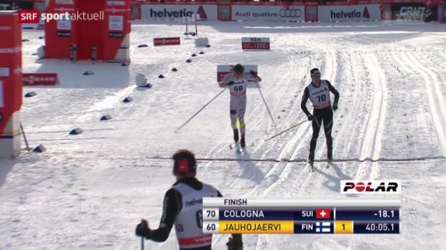 Video «Langlauf: Klassisch-Rennen der Männer in Davos» abspielen