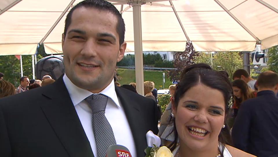 Raphael Zwyssig heiratet