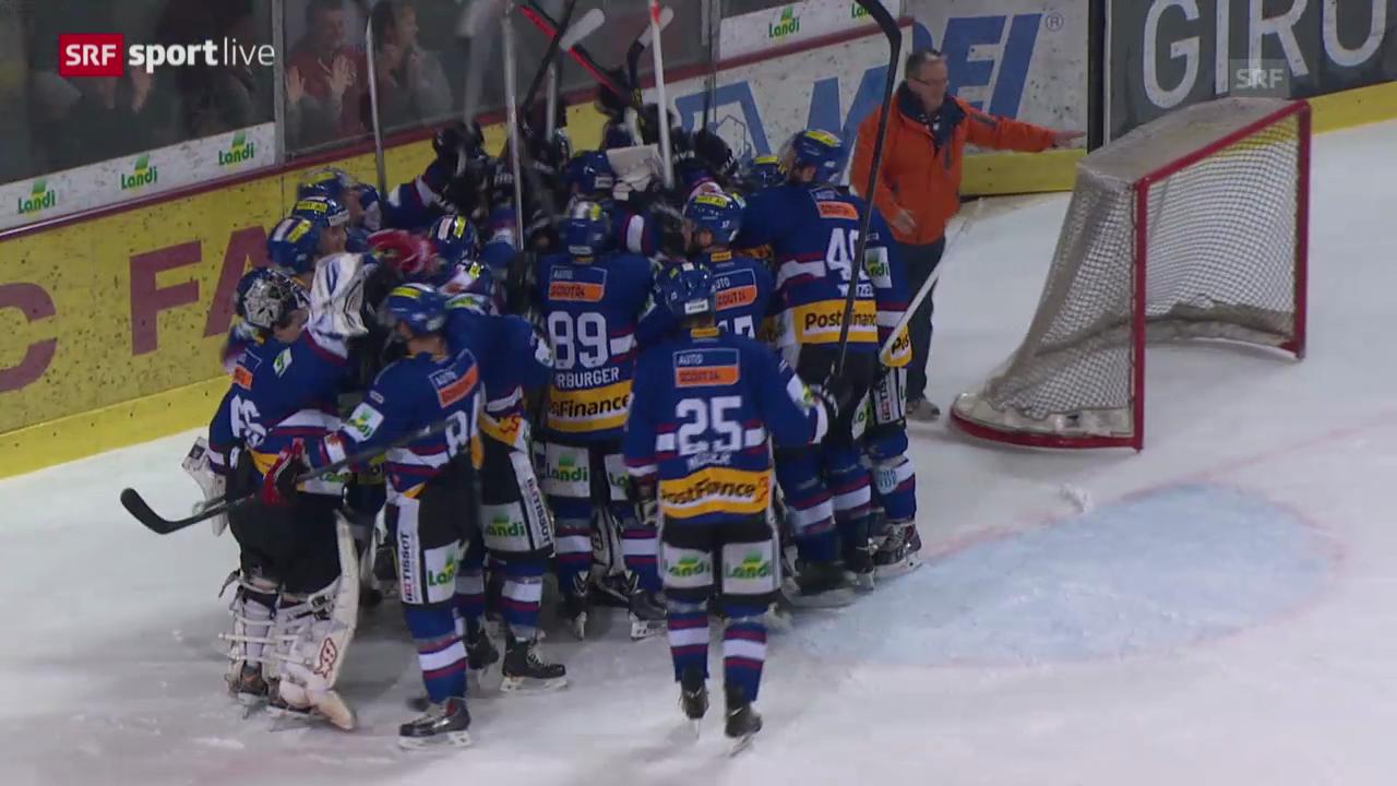 Eishockey: Liga-Quali Biel-Visp