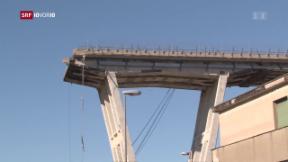Video «FOKUS: Morandi-Brücke – weshalb kam es zum Einsturz?» abspielen