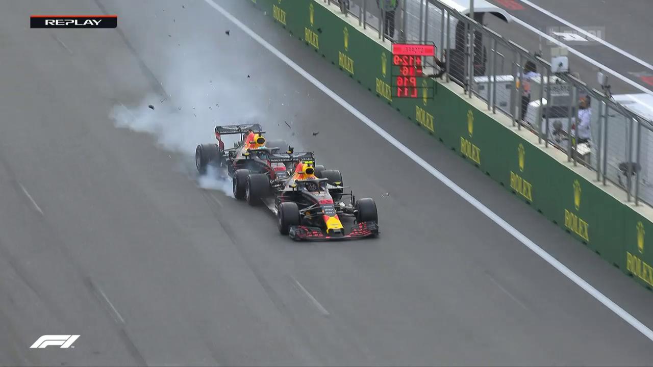 Hamilton gewinnt den GP von Aserbaidschan