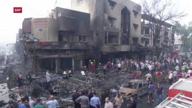 Video «Anschläge in Bagdad» abspielen