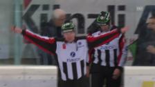 Video «Eishockey: Sekundenentscheidungen bei Kloten und Biel» abspielen