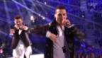 Video «Griechenland: Freaky Fortune feat. RiskyKidd mit «Rise Up»» abspielen