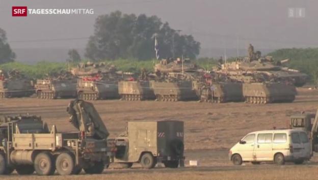 Video «Eskalation in Nahost» abspielen
