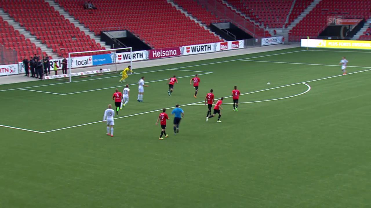 Fussball : Schweizer Cup, Xamax – Luzern, Live-Highlights