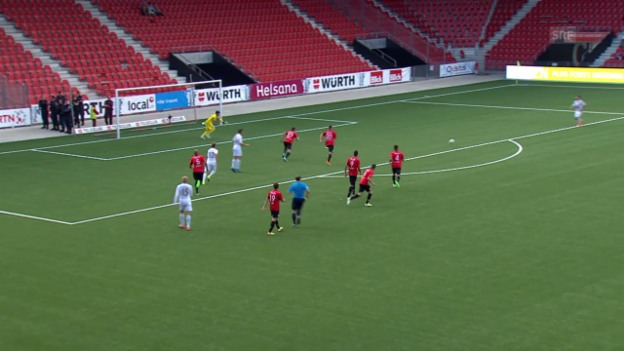 Video «Fussball : Schweizer Cup, Xamax – Luzern, Live-Highlights» abspielen