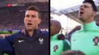 Video «Wer wird Europameister? Ein Ausblick auf den Final» abspielen