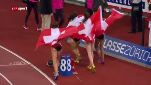 Die Schweizerinnen an «Weltklasse Zürich»
