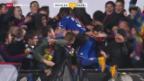 Video «Fussball: Schweizer Cup, Wohlen - Basel» abspielen