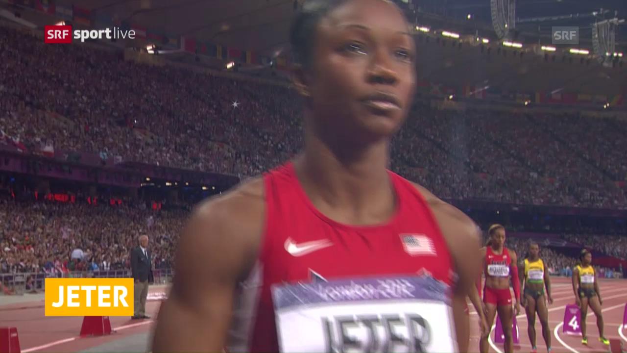 Carmelia Jeter verpasst Olympia