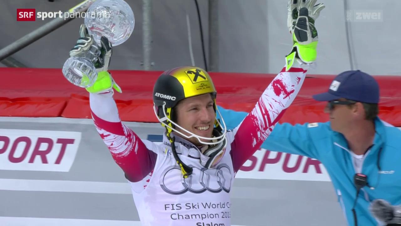 Ski alpin: Weltcup-Finale in Méribel, Slalom Männer